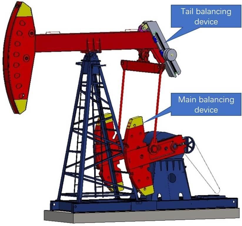 automatic balanced pump jack