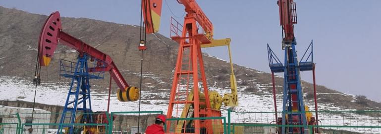 beam pump coal bed methane xinjiang