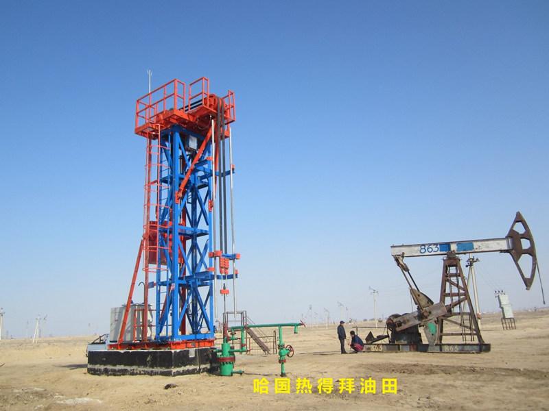 belt tower pump jack