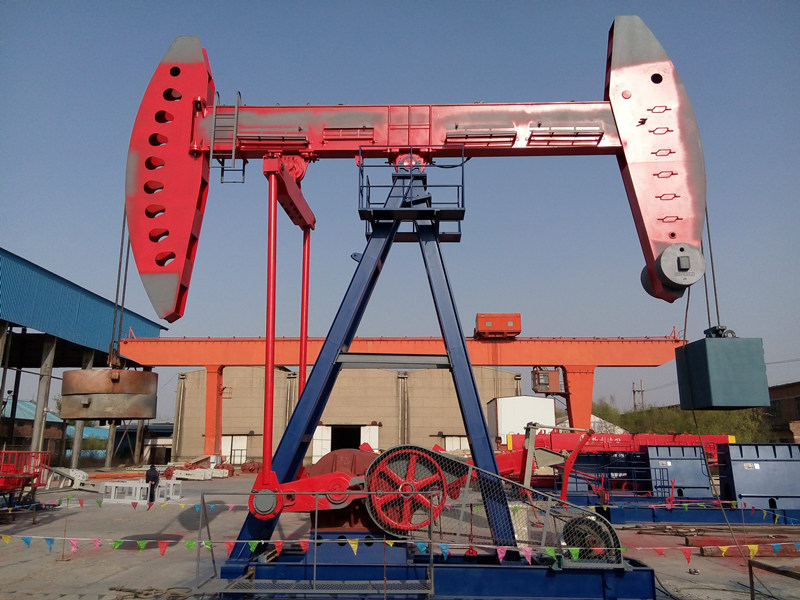 double horsehead pump jack.