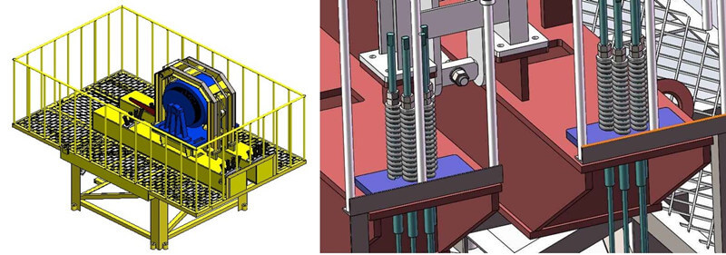 external rotor electric motor pump jac