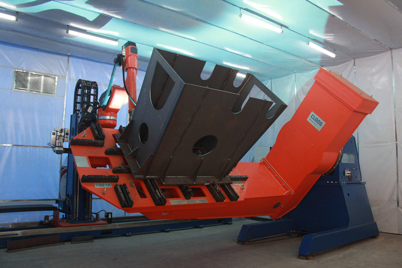 fully automatic welding robots