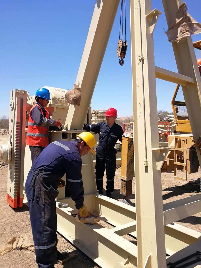 oil pump jack Peru