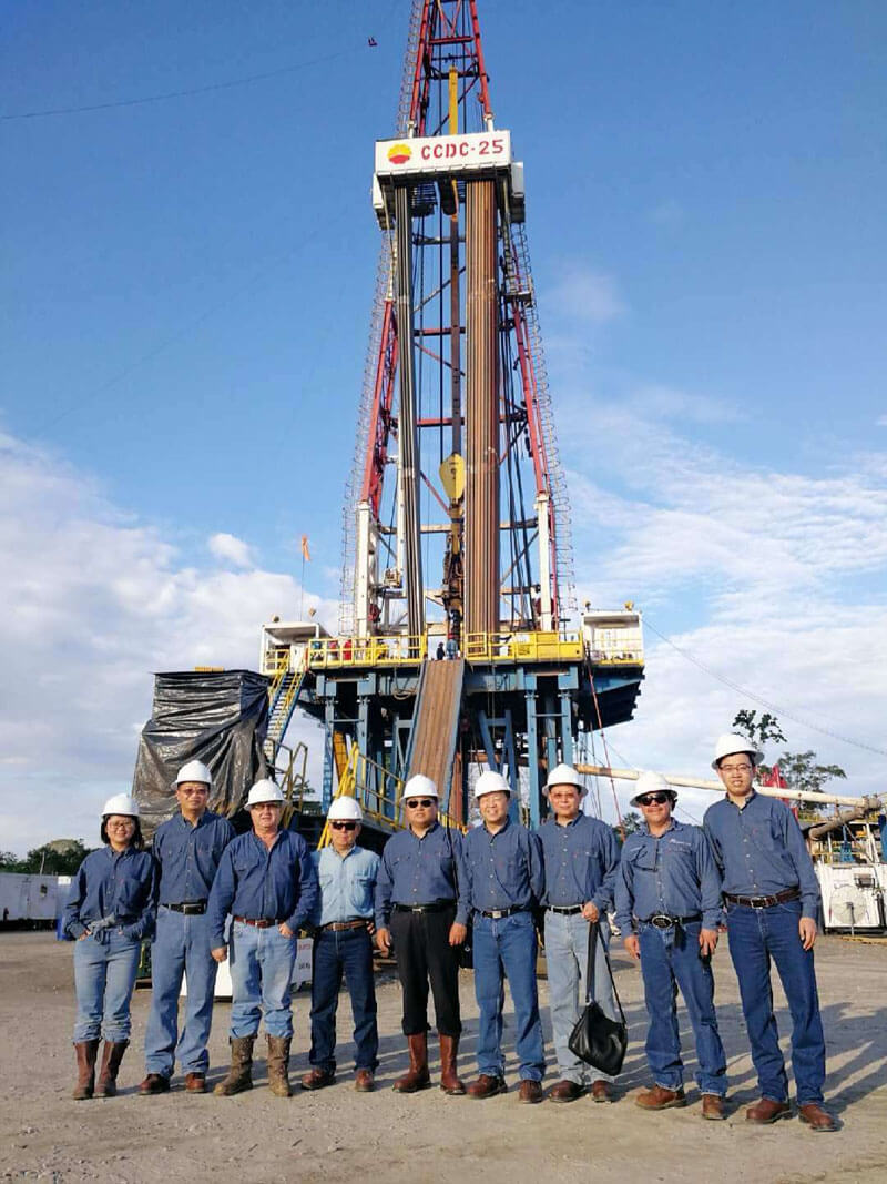 peru oil pump jack project